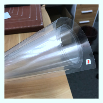 Transparent PS plastic film roll for food box