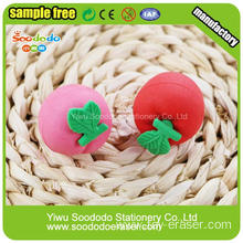 3D Different Fruit Shape Practical Pencil Erasers