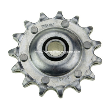 AG2437 Case-IH cornheader idler single pitch sprocket