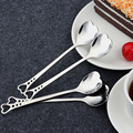 Gift Package Heart Spoon Stainless Steel Custom Spoon