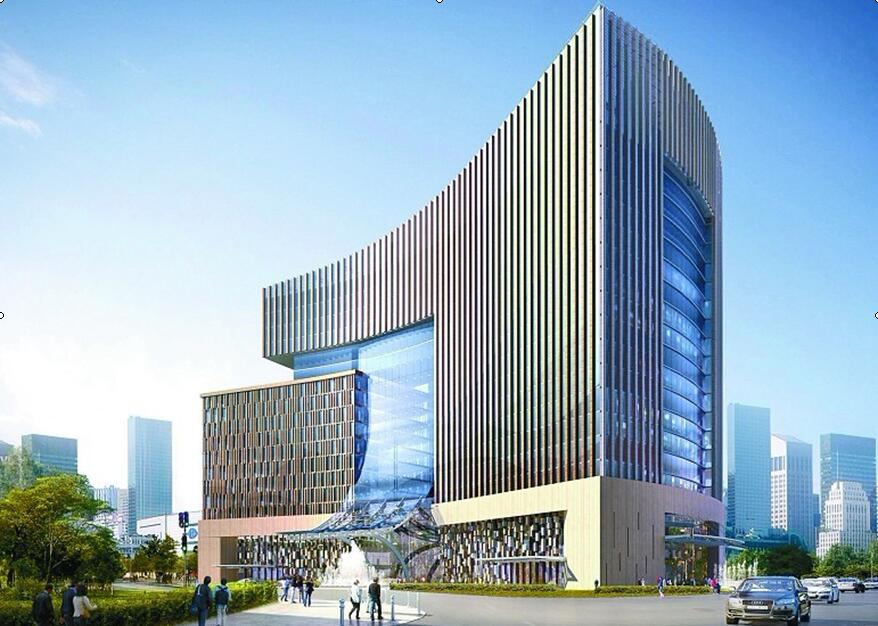 Beijing new Qinghai building