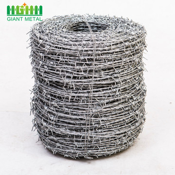 Low carbon steel wire fence barbed wire