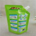 Custom logo 450ML detergent packaging bag