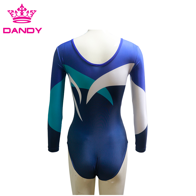 green gymnastics leotard