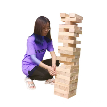 Online Shopping Wood Block Timber Tower