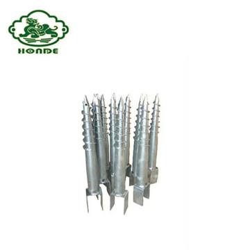 U Flange Galvanized Ground Screw Factory Price