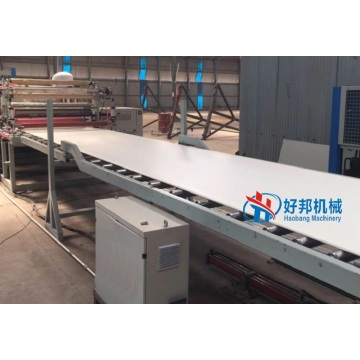 PVC free foam board plant sheet extrusion machine