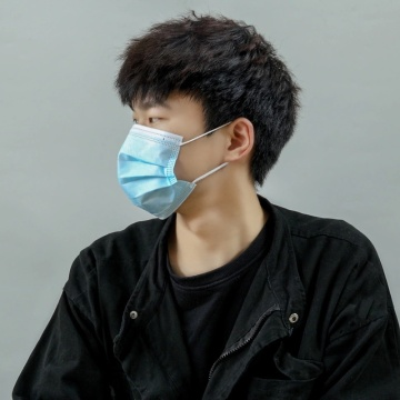 Non-Woven Medical Surgical Face Mask Anti Covid-19