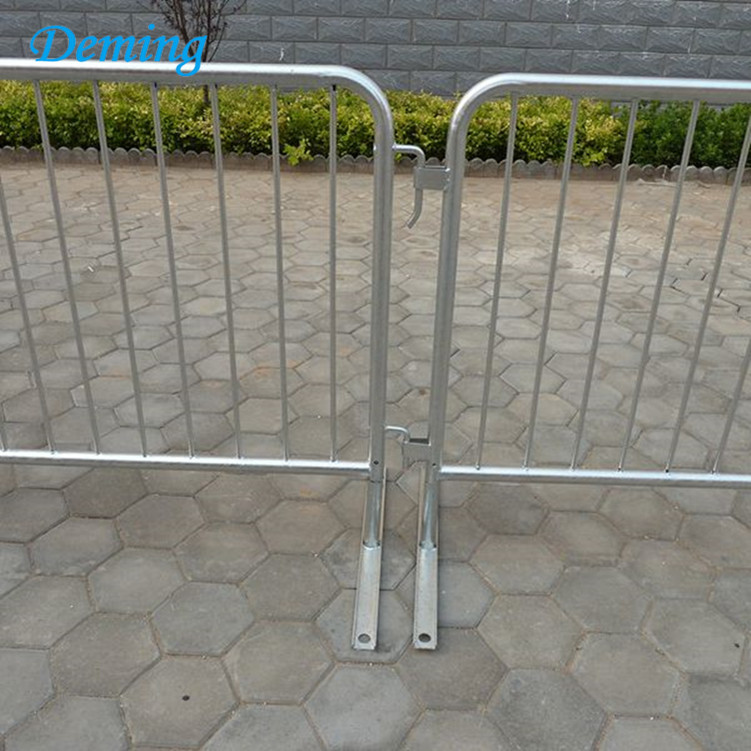 Factory Galvanized Metal Crowd Control Barrier Fence