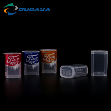 Plastic Bottles container with flip top cap