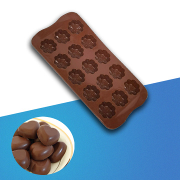 silicone chocolate flower mold