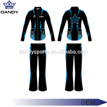 Custom Cheer Tracksuit Top