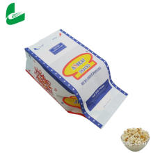 Kraft greaseproof paper microwave bags for popcorn