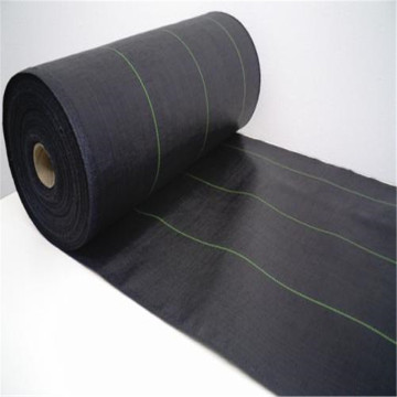 Black 100GSM 2m×50m Ground Cover Fabric