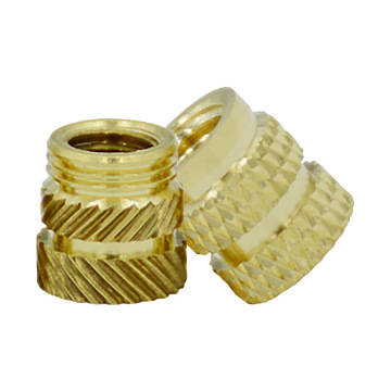 Top Quality Thread Knurling brass moulding inserts nut