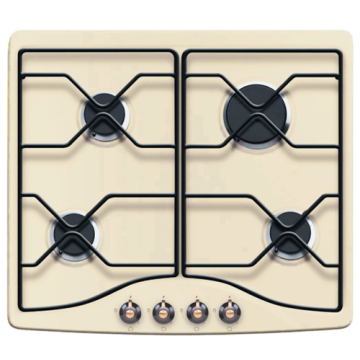 60CM Steel Retro Hob Built In