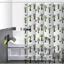 Waterproof Bathroom printed Shower Curtain Images