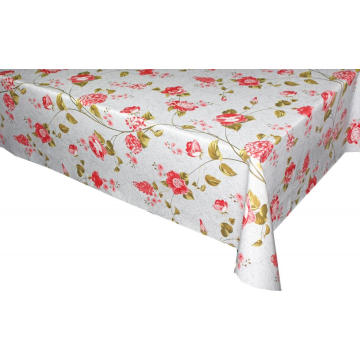 Elegant Square Tablecloth with Non woven backing