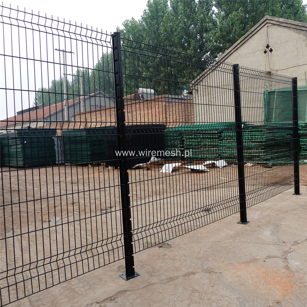 PVC Powder Coated Triangle Bend 3D Fence