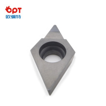 PCD top notch lathe ceramic turning inserts