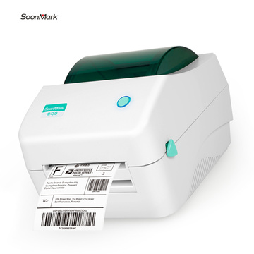 108mm handheld mobile bluetooth direct thermal label printer
