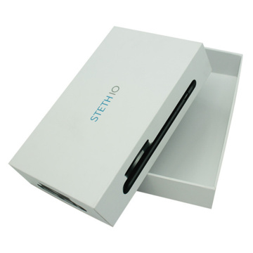 White Mobile Phone Paper Packaging Box For Packaging