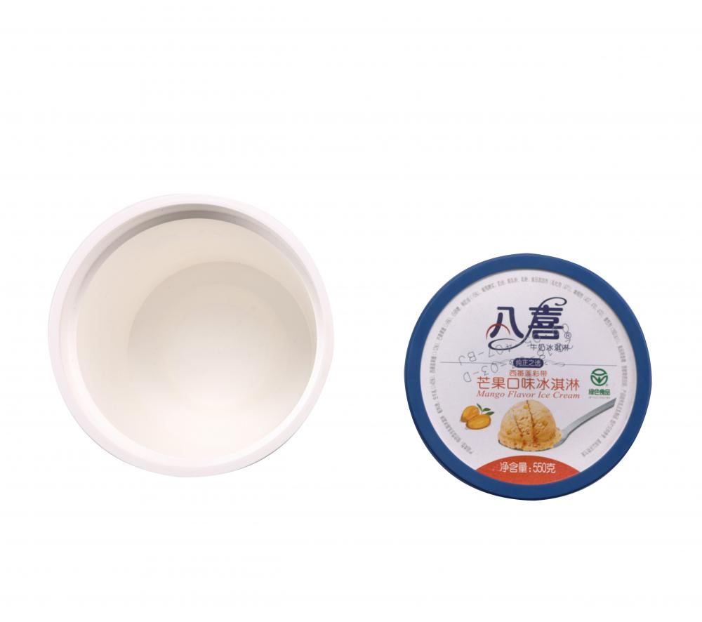 Ice Cream Container With Lid