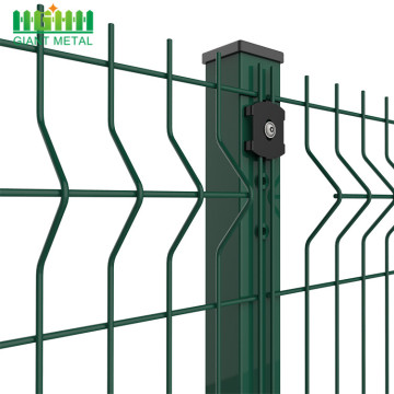 Direct factory pvc coated wire mesh fence