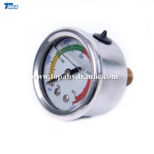 22mm 25mm customized Luminous Pressure Gauges