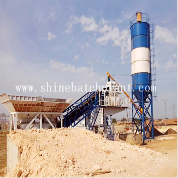 Mobile Concrete Batching Plant For Philippine Project
