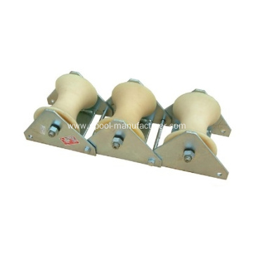 Three-wheel Cable Roller Opening Protection Roller