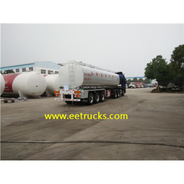 40 CBM Stainless Steel Edible Oil Tank Trailers