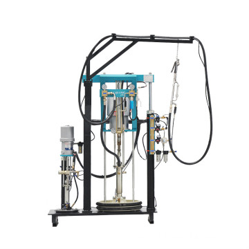 Insulating Glass  Sealant Pump and Rotated Table