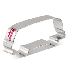 KENIAO Bus Cookie Cutter - 11.5 x 4.9 cm - Car Biscuit / Fondant / Pastry Cutter - Stainless Steel