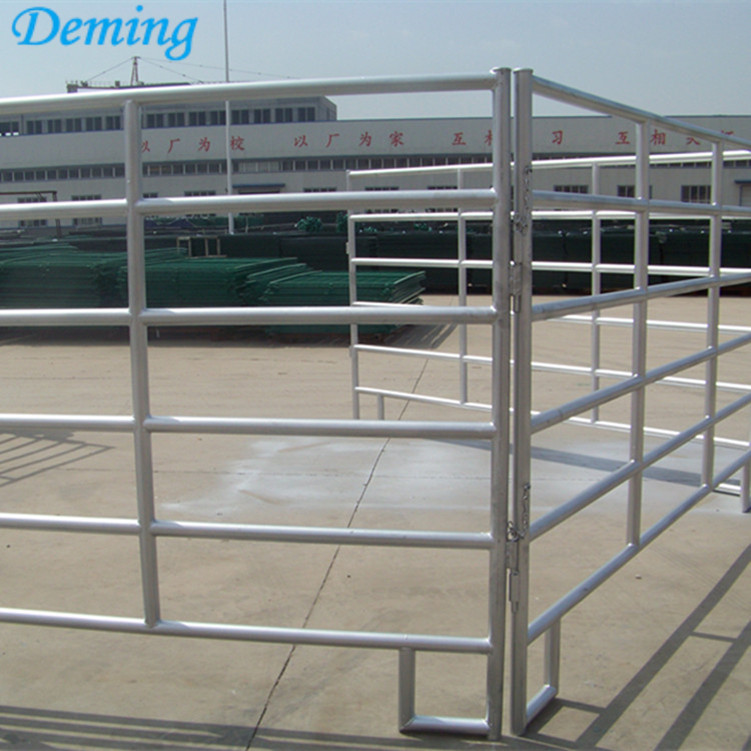Metal Livestock Galvanized Easy Installed Horse Fence Panel