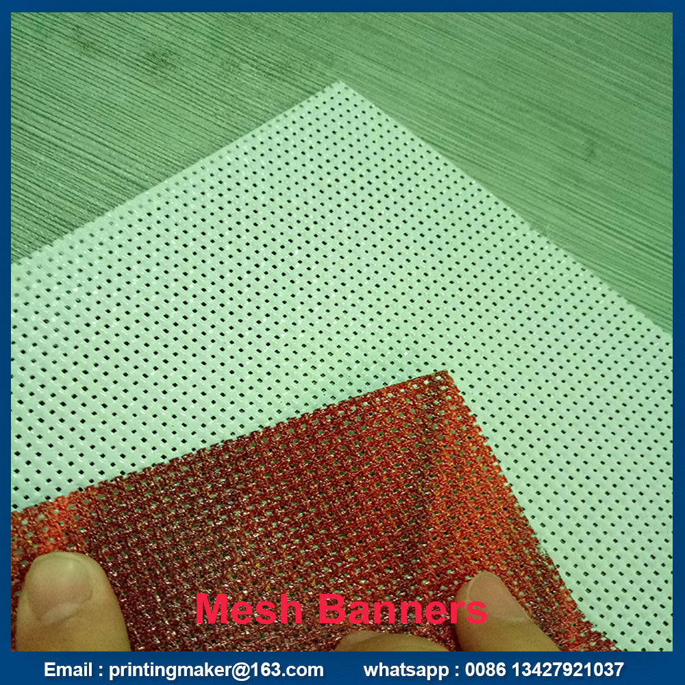 double sided printing mesh banner