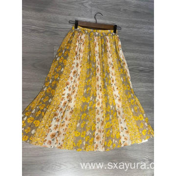 Custom women's Print skirt