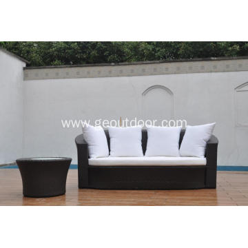 2 pcs garden sofa set