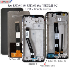 LCD Screen For Xiaomi REDMI 9 9A 9C LCD Display + Touch Screen Replacemet Tested Mobiles Phone LCDs Digitizer Assembly