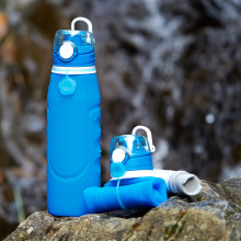 Anti Leakage Outdoor Silicone Water Bottle