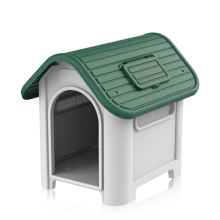 Plastic kennel dog house