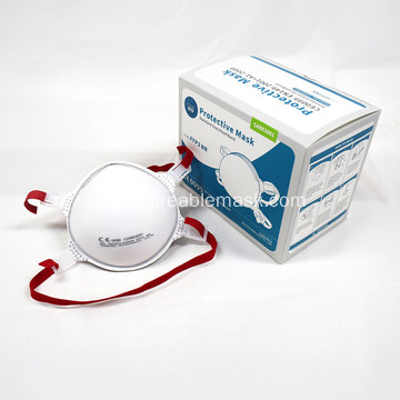 FFP3 Non-valved Cup Mask Head Band CE Approved
