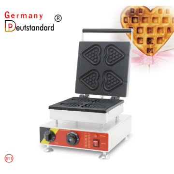 Snack Food  Heart Shape Waffle Maker