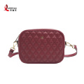 Prom Genuine Leather Quilted Crossbody Sling Bags