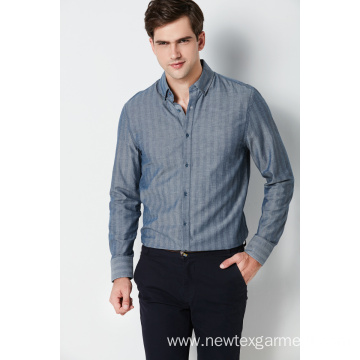 Formal high quality cotton long sleeve mens shirts