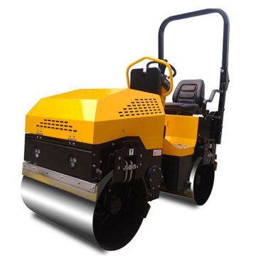 CE certified 1500kg 2cylinders road paving machine