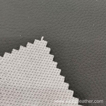 0.7mm PVC Leather Sofa Cloth Lychee Lines