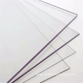 Anti scratch clear solid polycarbonate panel