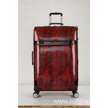 Fashional PU Pulley Luggage Case
