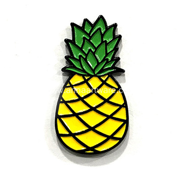 Custom Pineapple Soft Enamel Lapel Pin